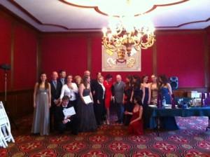 Le Jury, les finalistes après la remise des prix